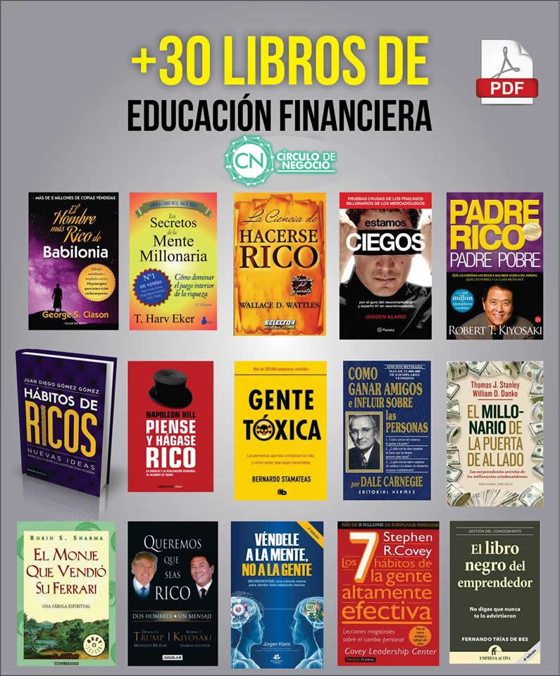 +30 eBooks de educación Financiera