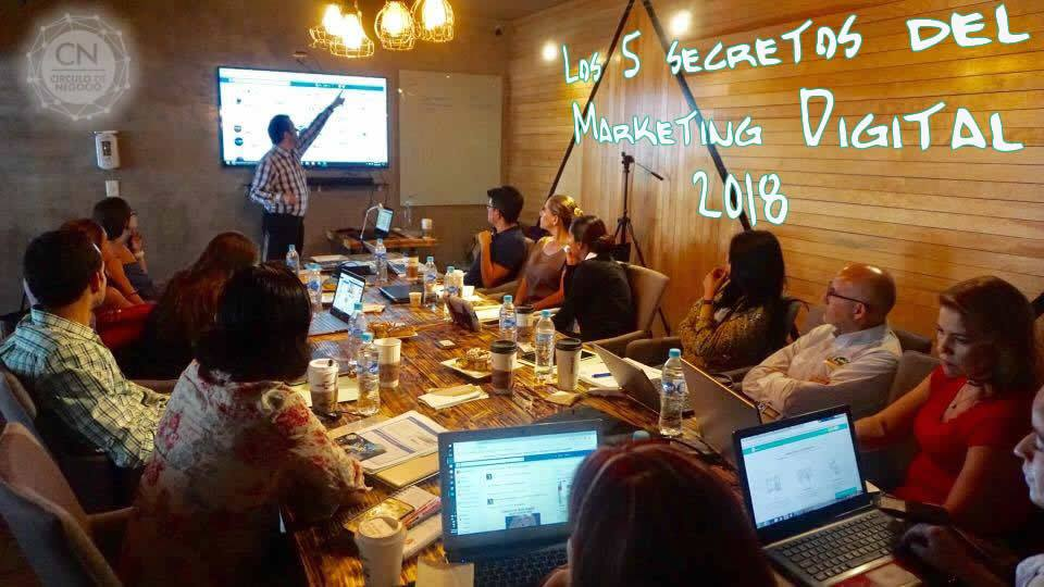 Curso Los 5 secretos del marketing digital
