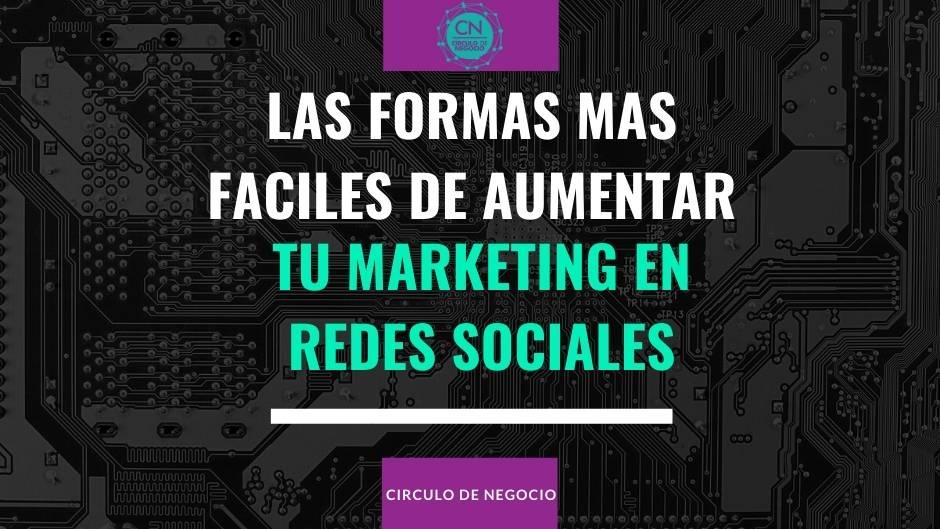 aumentar tu marketing en los medios sociales