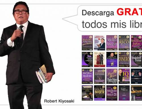 22 Libros en PDF de Robert Kiyosaki