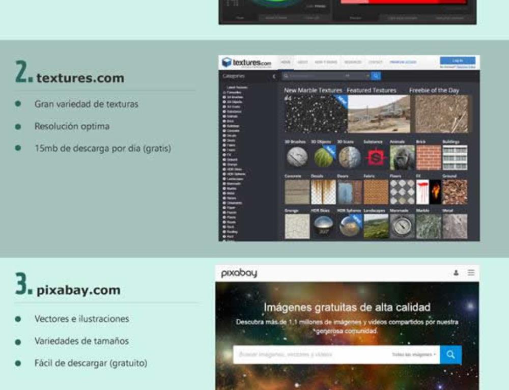 Recursos Gráficos para diseño Web,